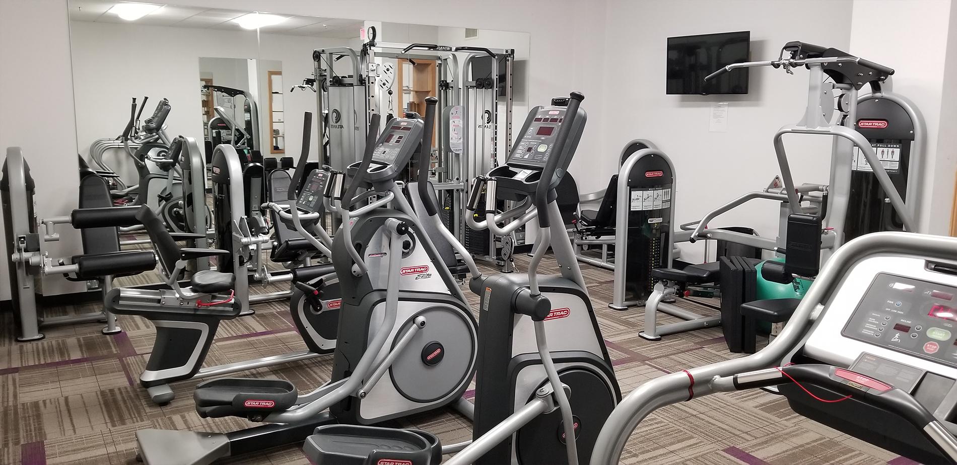 The Brighton Condominium Gym