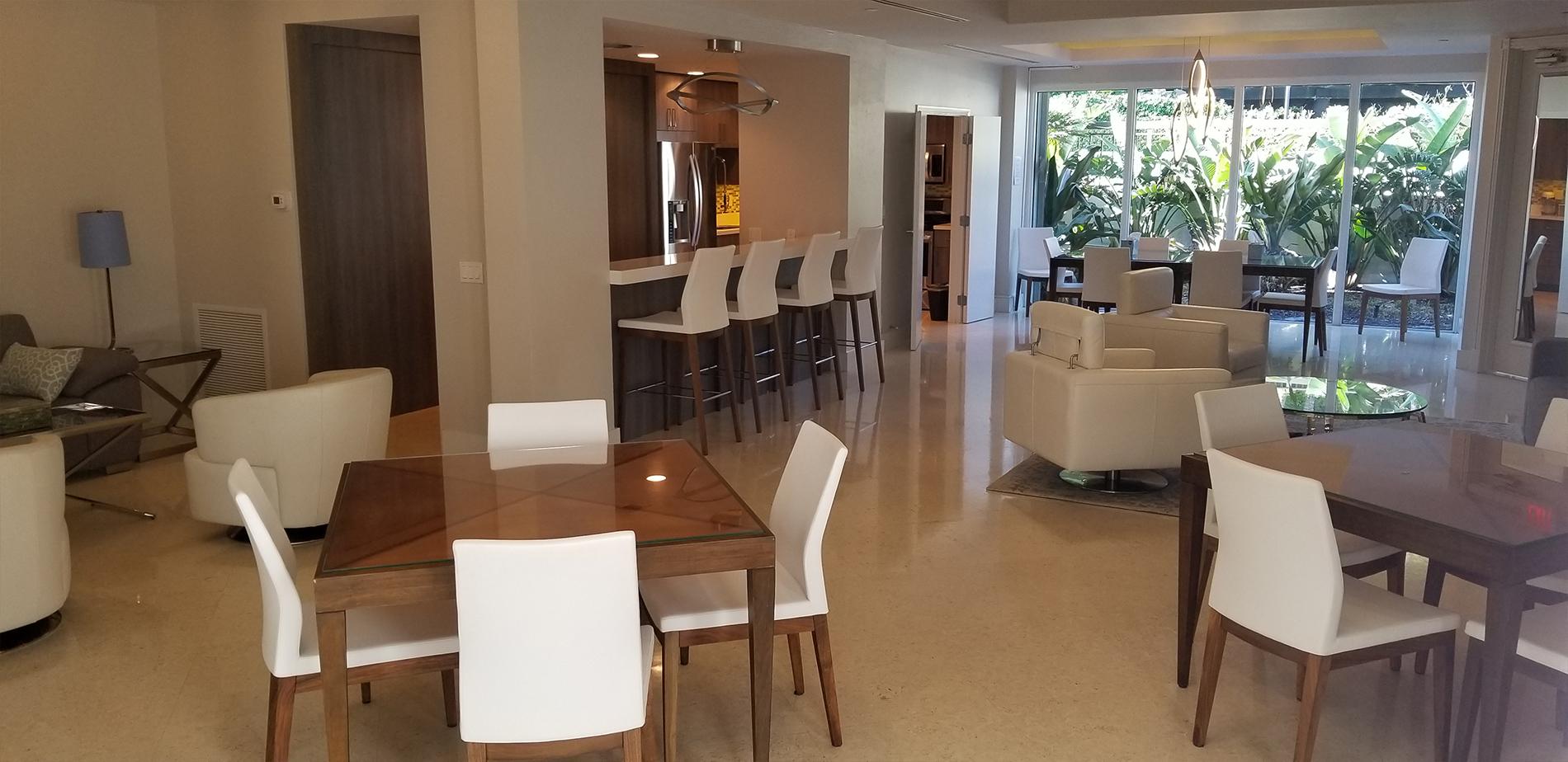 The Brighton Condominium Social Room