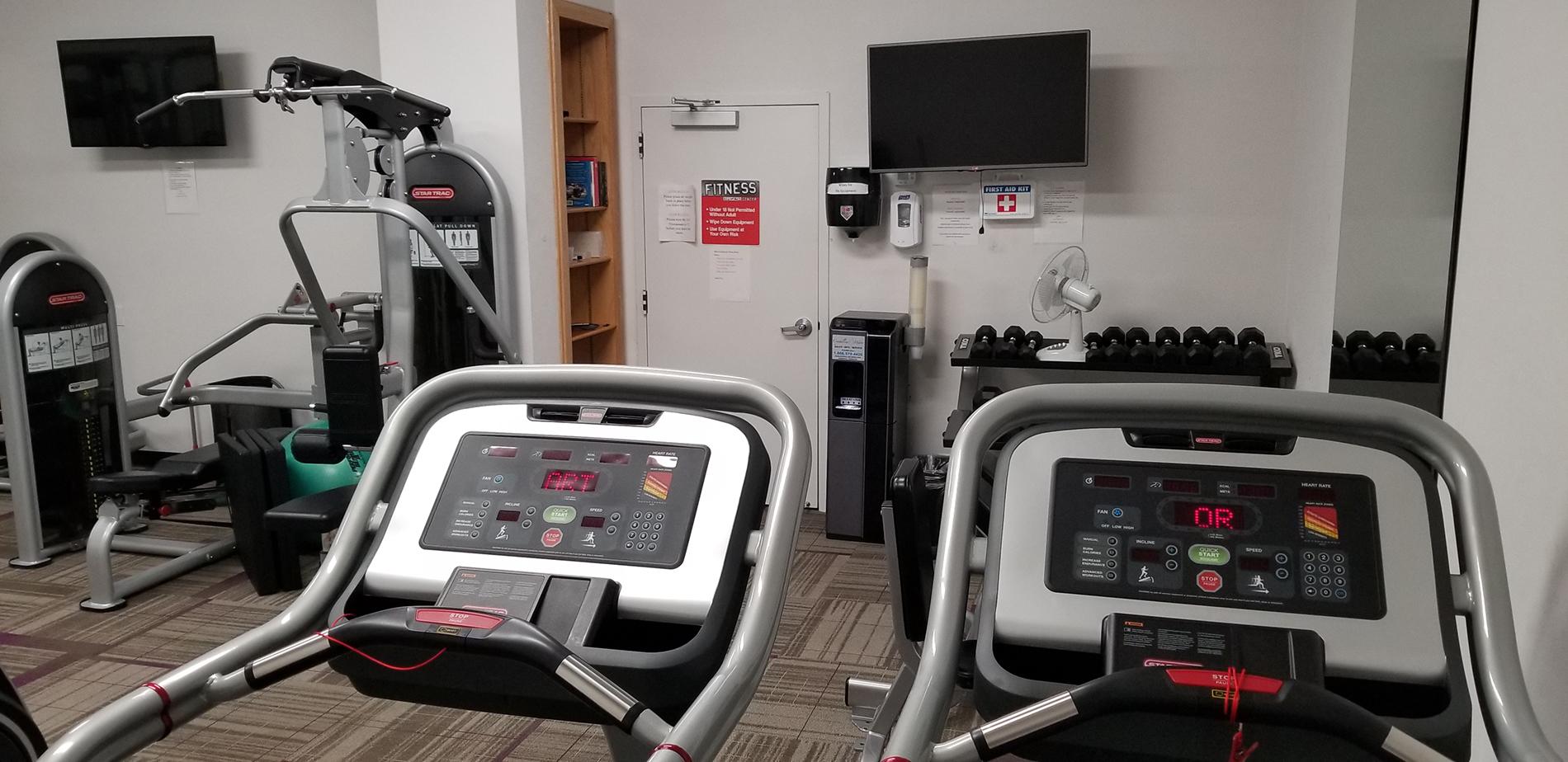 The Brighton Condominium Gym Treadmills
